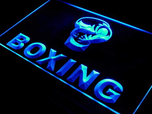 Cartel Luminoso ADV PRO i579-b Boxing Gloves Club Fight Bar ...