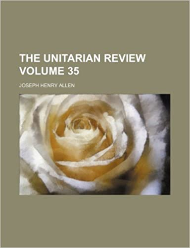Book The Unitarian review Volume 35