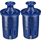 Brita Longlast Water Filter Replacement Filter for Pitcher and Dispensers, Reduces Lead,BPA Free 2 Count
