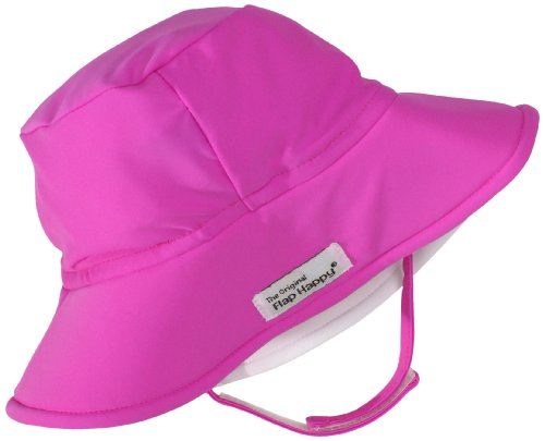Flap Happy Unisex Baby UPF 50+ Fun In The Sun Hat with Chin Strap, Kohala, Medium (Happy Childrens Clothing Flap)