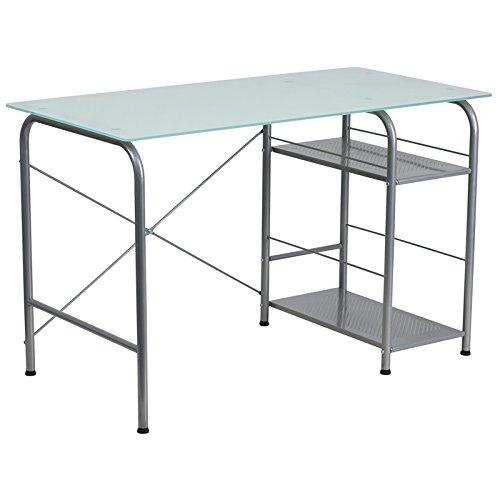 Computer Desk with Open Storage