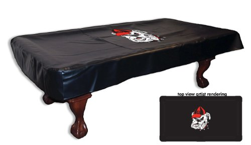 Georgia Bulldogs Table Cover (Georgia Bulldogs Billiard Table Cover-8)