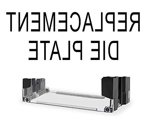 (Replacement Die Plate for previously Purchased Pickled Socks Self Inking Stamp)