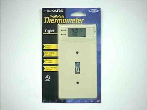 Power Sentry Wallplate digital Thermometer Model #100810