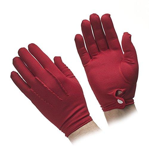 Men's Nylon Stretch Gloves (Red) ()