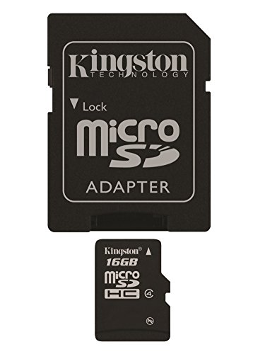 Kingston MicroSDHC Adapter SDC4 16GB product image