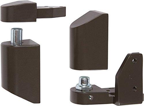 Offset Pivot Left Hand in Bronze Finish, Durable commercial & residential, door hardware, door handles, locks ()