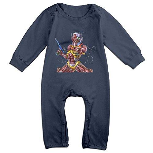 Cute Iron Maiden Outfits For Baby Navy Size 18 Months