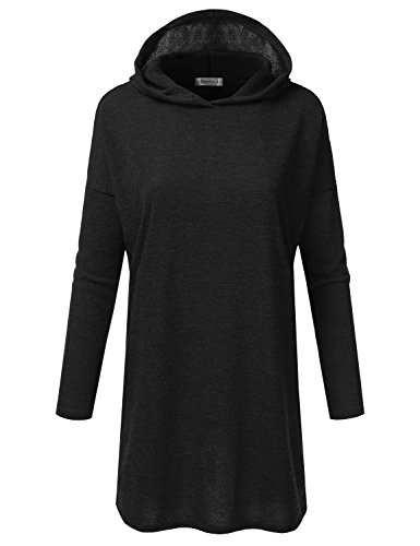 JJ Perfection Womens Loose Fit Knitted Sweater Hoodie Top Dress