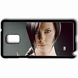 Personalized Samsung Note 4 Cell phone Case/Cover Skin A Aeon Flux 9394 Black by supermalls