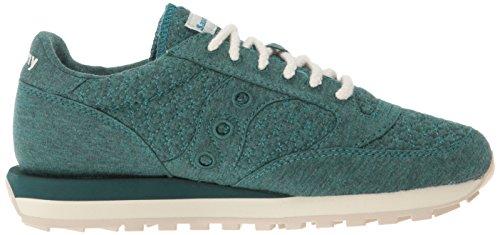 cheap for discount ab45c 69cb6 Saucony Originals Women's Jazz Original CL Cozy Sneaker, Green, 9.5 Medium  US