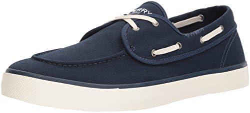 Sperry Top-Sider Men's Captains 2-Eye Sneaker, Navy, 12 M US