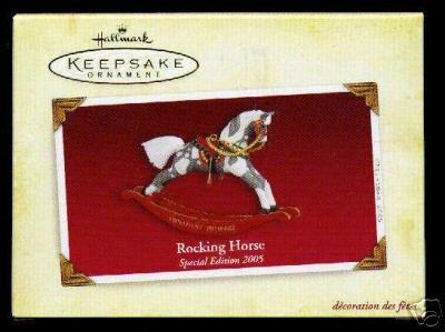 Hallmark Rocking Horse (Hallmark Ornament 2005 Rocking Horse Special Edition Ornament Premiere)