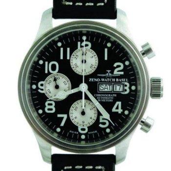 Zeno New Pilot Classic Tri-Compax Classic Chronograph Ref. 9557 TVDD D-SV