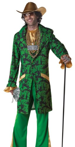 Ho Costumes For Men (Pimpin' Da Ho's Adult Costume Size X-Large)