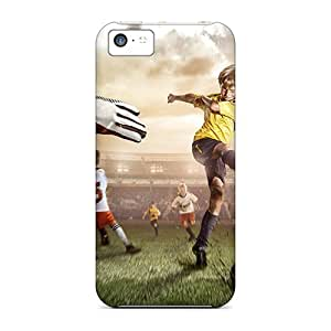 Attractive and Unique Awesom Case Cover Compatible With Iphone 5c - Playing Football At HY_in Case