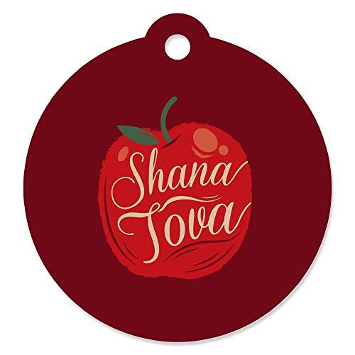 New Tag Year (Rosh Hashanah - Jewish New Year Favor Gift Tags (Set of 20))