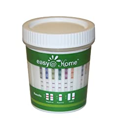 10 Pack #ECDOA-1144A3 Easy@home 14 panel Instant Drug Test Cup Testing 14 Different Drugs w/ 3 adulterations and temperature strips. Tests AMP,BAR,BZO,COC,THC,MTD,MET,MDMA,OPI 2000,PCP,TCA,BUP,OXY,PPX