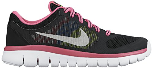 Nike Flex 2015 Rn (GS) - black/mtllc slvr-pnk pw-pht bl