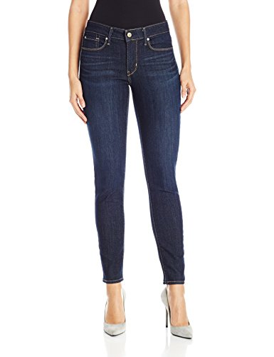 (Signature by Levi Strauss & Co Women's Totally Shaping Skinny Jeans, Gala, 14 Medium)