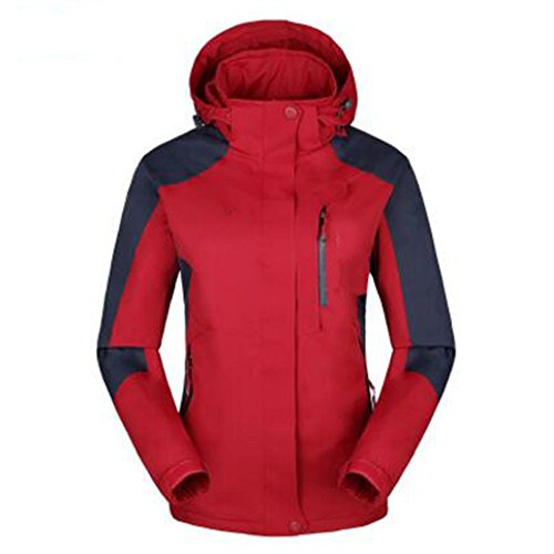 Coppia Giacca Lai Outdoor Calda Sport Rosso Impermeabile Nuovo Singolo Antivento Giacche Stile Strato Wu Alpinismo Sottile Donna qBn1X1x