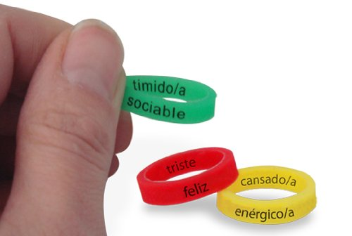 Spanish Mood Ringz Set of 100