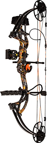 Bear Archery Cruzer G2 RTH Compound Bow – Moonshine Wildfire – Right Hand