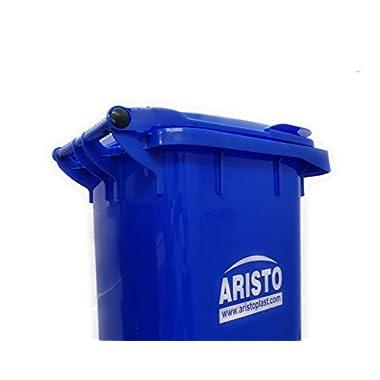 Aristo Wheel Garbage Waste Dustbin 120 Ltr (Blue) 13