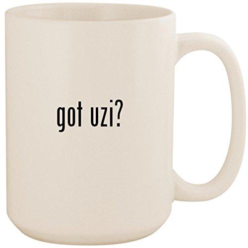 (got uzi? - White 15oz Ceramic Coffee Mug Cup)