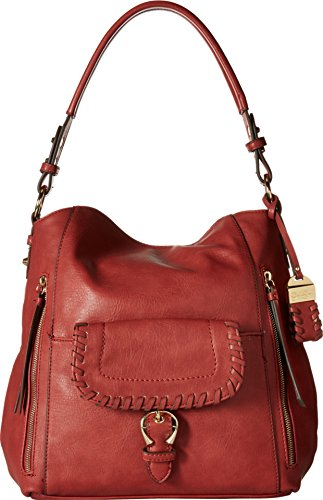 Jessica Simpson Women's Selita Hobo Russet Handbag