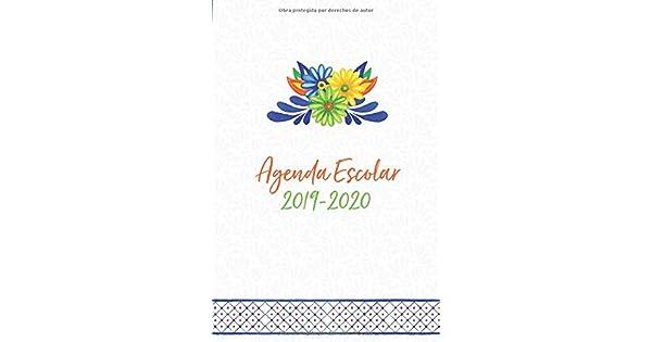 Amazon.com: Agenda Escolar 2019-2020: Diseño Mexicano Para ...