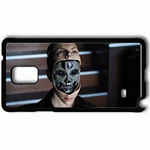 Personalized Samsung Note 4 Cell phone Case/Cover Skin AI Artificial Intelligence Black by icecream design