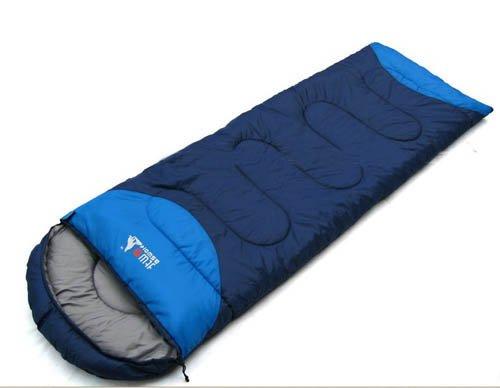 EMS Shipping Adult Size Travel Sleeping Bag (Model: Zj000214) (Dark Blue), Outdoor Stuffs