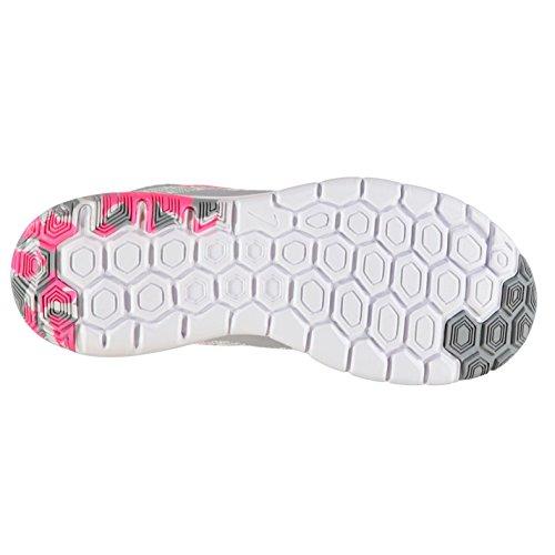 NIKE Flex Expérience Expert 4Chaussures de Course à Pied Femme Blanc/Rose Baskets Sneakers