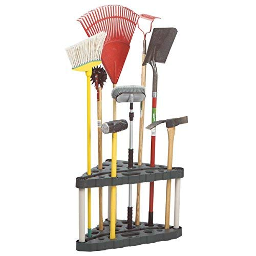 Rubbermaid 5A47 30-Tool Corner Tool Rack