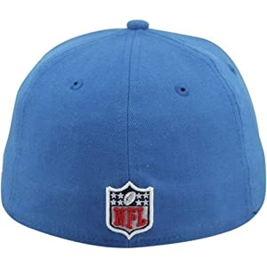 fa0d80ac Amazon.com: New Era 59Fifty Hat NFL Detroit Lions On Field Fitted ...