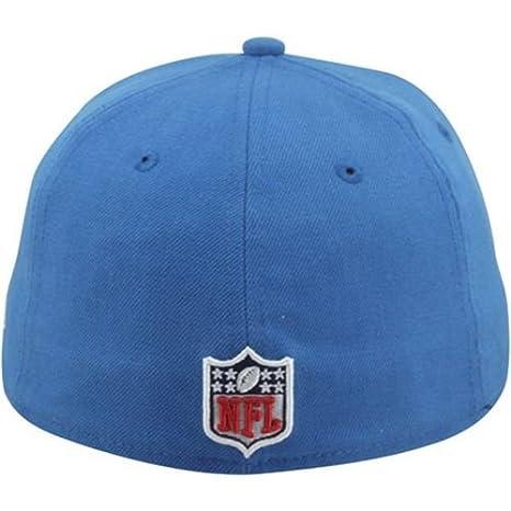 Amazon.com   Men s New Era Detroit Lions On Field Classic 59FIFTY ... 388d9d223da