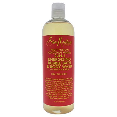Shea Moisture Fruit Fusion Coconut Body Wash Liquid, 16 Ounce