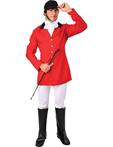 Orion Costumes Mens Fox Hunter Fancy Dress Costume Stag Night Extra Large ()