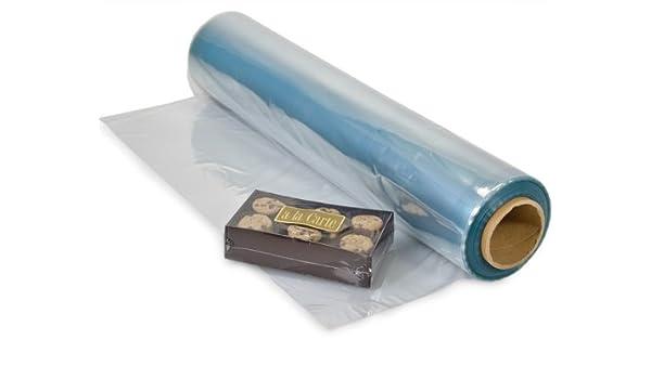 100 Gauge Pvc 22X500 Clear Centerfold Film Shrink Wrap Pack Of 1