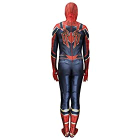 - 4153GLV2 2BVL - Jolly Costumes Lycra Spandex Zentai Unisex Halloween Cosplay Costumes 3D Style Audlt/Kids