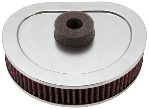 K&N HD-1390 Harley Davidson High Performance Replacement Air Filter - Boyd Night Air