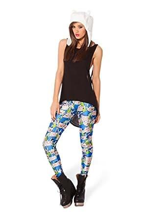 Hamiltion Womens 3D Digital Print Leggings as Pants Fashion Funky Pattern 18