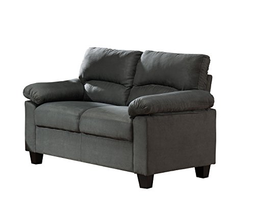 Kings brand furniture gray microfiber living room set - Microfiber living room furniture sets ...