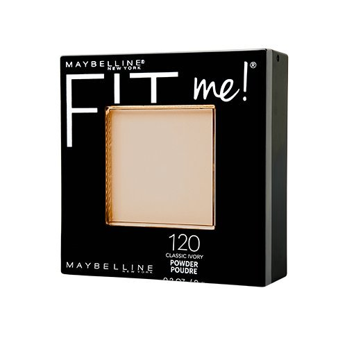 Maybelline New York Fit Me Matte Plus Poreless Powder, Classic Ivory, 0.29 Ounce - Fit Face