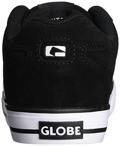 GlobeEncore-2, Zapatillas de Skateboard Hombre Negro (Black/White)