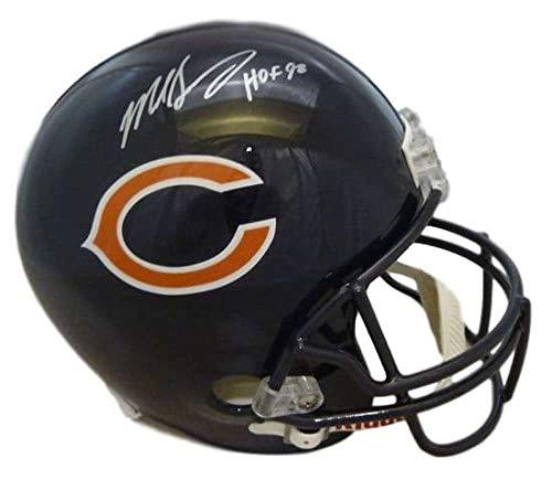 Mike Singletary Autographed/Signed Chicago Bears Replica Helmet HOF JSA