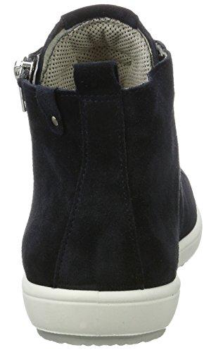Legero Trapani Dames Hoge Blauwe Sneakers (pacific Combinatorische 81)