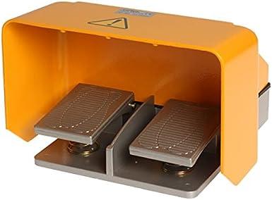 eu Fu/ßpedal Fu/ßpedal Controller Fu/ßschalterpedal mit Netzkabel elektronische Fu/ßsteuerung Universal Home N/ähmaschine Fu/ßschalter Pedal Variable Speed Controller f/ür meisten N/ähmaschinen,220-240V