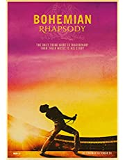 Bohemian Rhapsody Movie Poster Freddie Mercury Rock Band Queen Posters Canvas Schilderij Modern Home Decor A354 50 × 70 CM Zonder Frame
